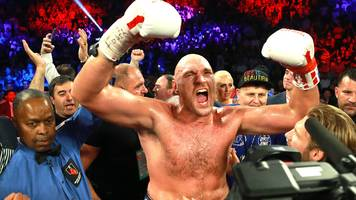 tyson fury says he will beat deontay wilder in rematch