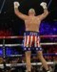 Tyson Fury demolishes Tom Schwarz in Las Vegas debut and fans are predicting the future