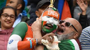 india vs pakistan: rivals on the field, friends off it - fans light up old trafford