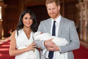 Prince Harry and Meghan Markle release adorable picture of baby Archie to celebrate Father's Day