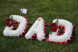 vandals target graves in father's day attack which has caused 'extensive' damage to cemetery