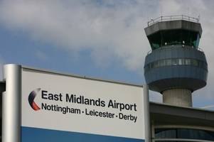 flights delayed at east midlands airport due to drone flying over download festival