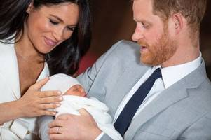Meghan Markle and Prince Harry release new photo of Archie for Father's Day