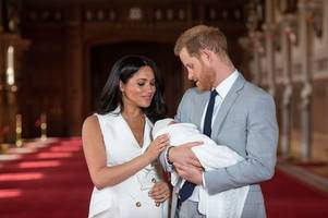 meghan markle and prince harry to embrace royal tradition for archie's christening