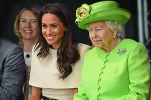 the queen's special gift to meghan markle for her 38th birthday