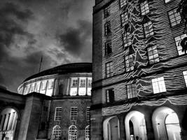 Joy Division's 'Unknown Pleasures' Beamed On To Manchester Landmarks