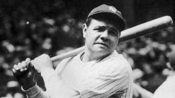 Babe Ruth jersey fetches record-breaking $5.6m at auction
