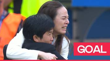 women's world cup 2019: emotional scenes as thailand score first goal of competition
