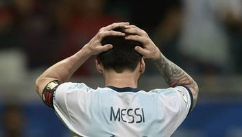 Lionel Messi 'Bitter' as Argentina Suffer Defeat to Colombia Defeat in Copa America