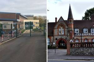 19 kent secondary schools which have not been inspected in the last five years