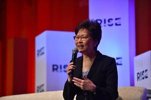 carrie lam resignation, 'not going to happen,' senior official insists