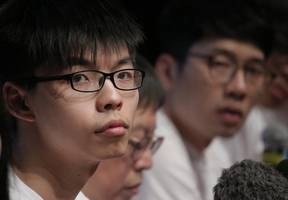 Hong Kong protest leader Joshua Wong released from prison