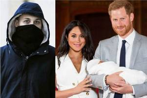 Prince Harry branded 'race traitor' for marrying Meghan Markle by far-right thug