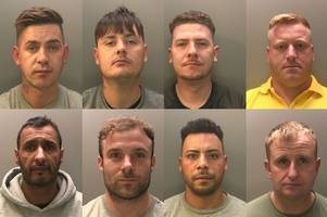 organised crime gang which ran cocaine supply in newport jailed for combined 61 years