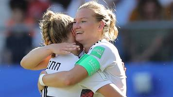 women's world cup: germany thrash south africa to finish top of group