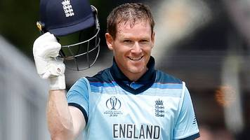 eoin morgan: england captain hits record 17 sixes against afghanistan