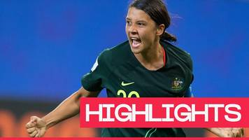 Women's World Cup 2019: Sam Kerr stars as Australia beat Jamaica
