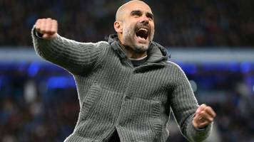 Pep Guardiola: Manchester City manager's cardigan raises £6,000 for Blues' charity