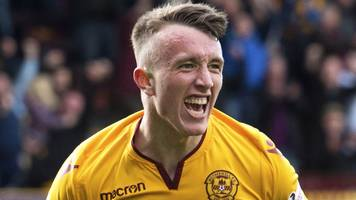 david turnbull: motherwell accept norwich bid for teenage celtic target