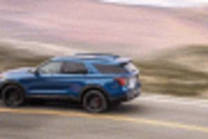 ford doesn't think explorer st buyers want a v-8