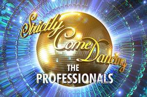 strictly come dancing professionals tour returning to hull for two nights