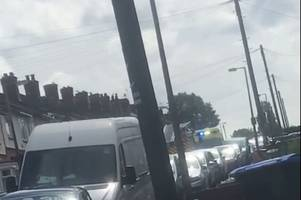 cops hurt after being hit by car during dramatic smethwick police pursuit