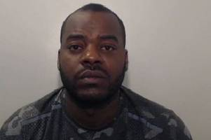 thug lorenzo mason rips off shirt in dramatic court room rant after being jailed for attacking woman