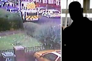 school dad questioned over tollbar academy smashed cars insists he is innocent after being arrested in dramatic police raid