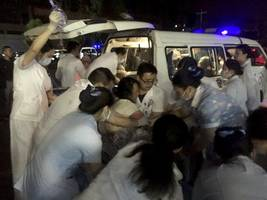 at least 11 dead in sichuan earthquakes in china
