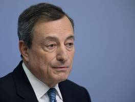 draghi to trump: ecb doesn't target euro exchange rate