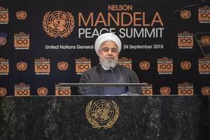 iran will not wage war against any nation, says hassan rouhani