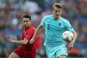 barcelona out of matthijs de ligt transfer race as ajax superstar gives the come-on to three superclubs