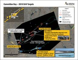 auryn to drill committee bay gold project
