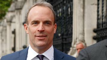 arch-brexiteer raab out of tory leadership race