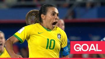 women's world cup 2019: marta converts penalty to become the all-time world cup top scorer