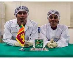 sri lanka joins global space age with first cube research satellite