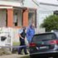 frantic search for woman after newborn baby found abandoned in backyard north of sydney