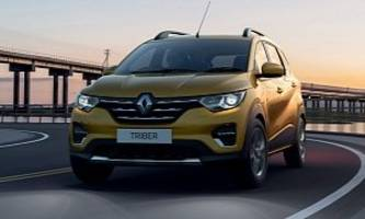 Renault Triber Revealed as 7-Seater for India