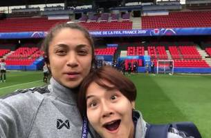 Thailand's Miranda Nild previews match vs. Chile from the pitch in behind-the-scenes exclusive