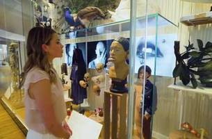 Jenny Taft visits ancient artifacts inside Musée de l'Homme