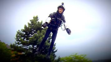 'i feel like a marvel superhero' in jet suit