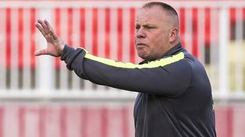 andy morrison: connah's quay nomads boss relishing 'tough' kilmarnock tie