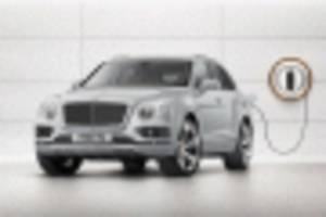 bentley says all models will offer hybrid option by 2023, first ev coming by 2025