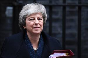 what prime minister theresa may had to say about the lincolnshire floods