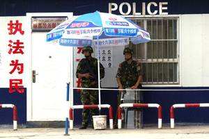 Belgian diplomat seeks 'missing' Xinjiang Uygurs who were led away from embassy by Chinese police
