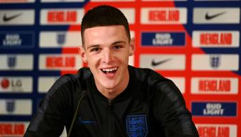 west ham inform manchester city & united of stance of declan rice as duo make enquiries