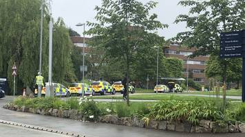 exeter university: man charged after students threatened with fake gun