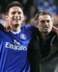 hilarious 'naked frank lampard story' from jose mourinho's chelsea days revisited