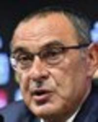 maurizio sarri's strange behaviour in chelsea exit - the three things he did straight away