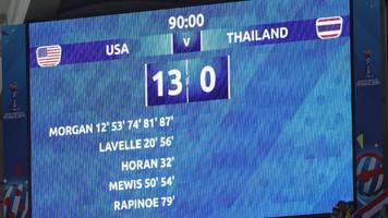 Women's World Cup: Thailand's terrible time, Marta magic & golden oldies - best group stage stats